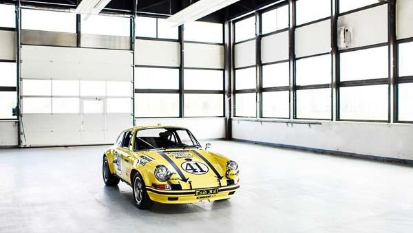 Restored Porsche 911 ST at Techno Classica