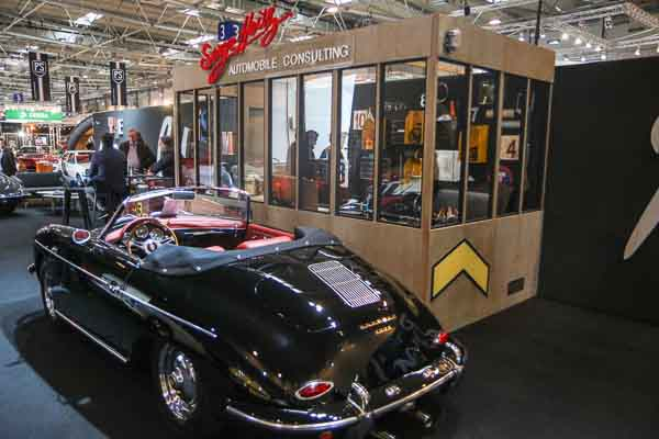Serge Heitz at Techno Classica 2016