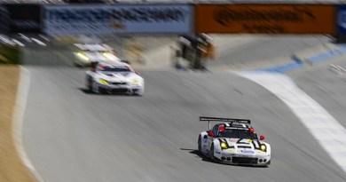 IMSA Laguna Seca 4th win for porsche 911RSR-1