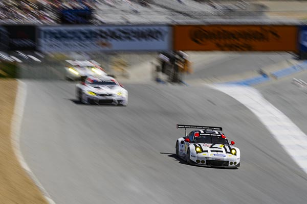 IMSA Laguna Seca 4th win for porsche 911RSR-1