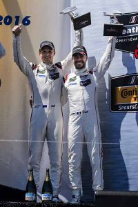 IMSA Laguna Seca 4th podium for porsche 911RSR-2