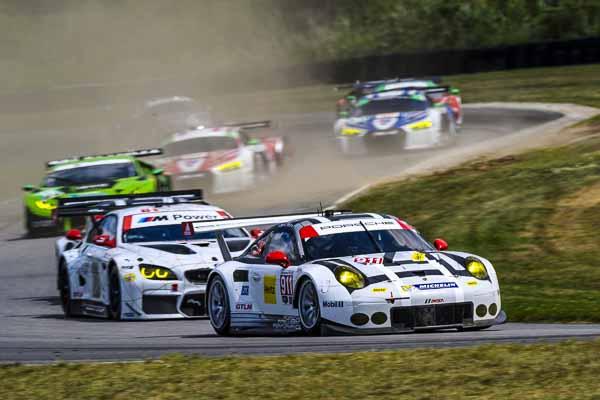 IMSA Lime Rock 2016 Porsche 911 RSR, Porsche North America: Patrick Pilet, Nick Tandy