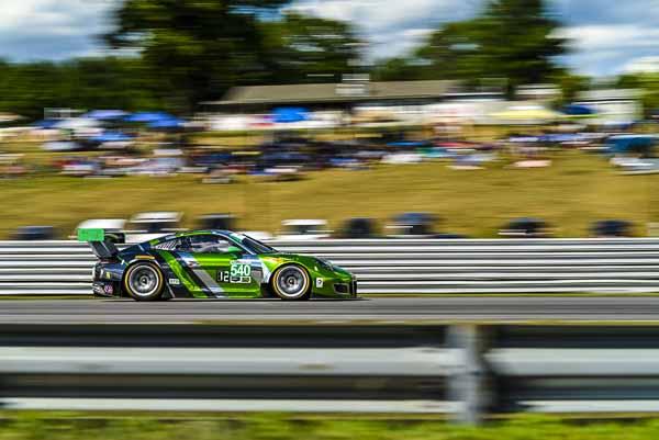Porsche 911 GT3 R, Black Swan Racing: Andy Pilgrim, Timothy Pappas