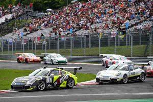 Robert Lukas (PL)  Porsche Mobil 1 Supercup Budapest 2016