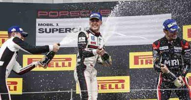 Porsche Junior Sven Müller wins turbulent race