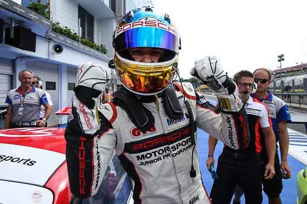 Sven Müller (D) Porsche Mobil 1 Supercup Budapest 2016