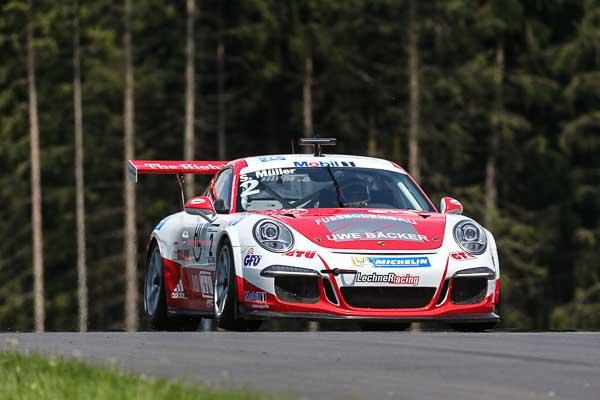 Sven Müller (D) Porsche Mobil 1 Supercup Spielberg 2016