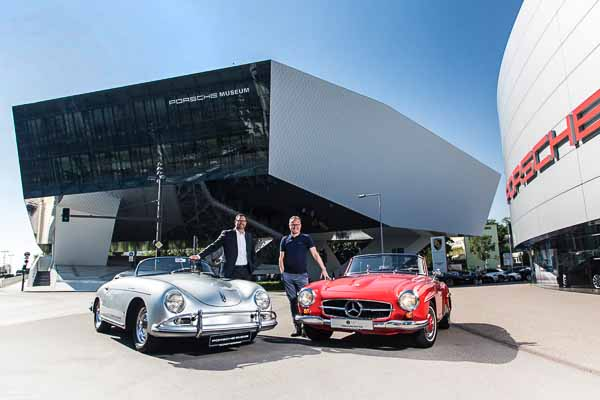 Discounted entry to the Mercedes Benz Museum for Porsche Museum ticket holders