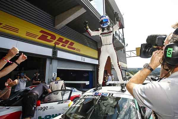 Mathieu Jaminet (F)  Porsche Mobil 1 Supercup Spa 2016