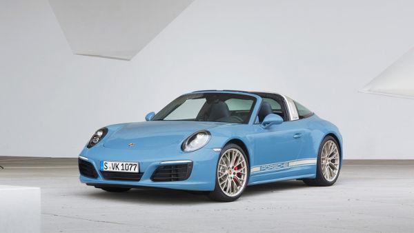 Porsche 911 Targa 4S Exclusive Edition 9