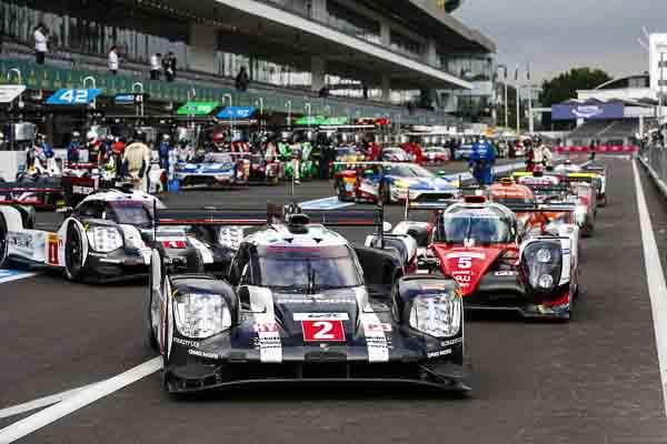 Porsche 919 FIA Wec LMP1 Mexico City