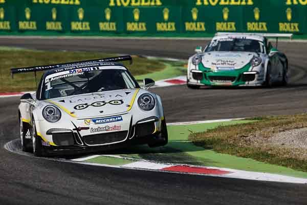 Michael Ammermüller (D) Porsche Mobil 1 Supercup Monza 2016