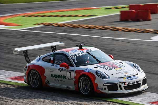 Matteo Cairoli (I) Porsche Mobil 1 Supercup Monza 2016