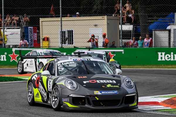 Robert Lukas (PL) Porsche Mobil 1 Supercup Monza 2016