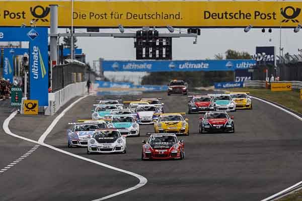 Start: Porsche Carrera Cup Deutschland - 07 Nürburgring 2016