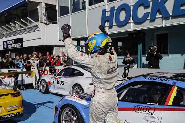 Christian Engelhart (D) Porsche Carrera Cup Deutschland - 08 Hockenheimring 2016