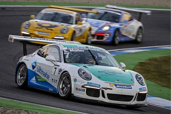 Sven Müller (D)Porsche Carrera Cup Deutschland - 08 Hockenheimring 2016