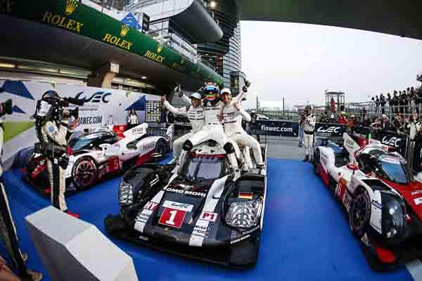 FIA WEC Shanghai Porsche 919