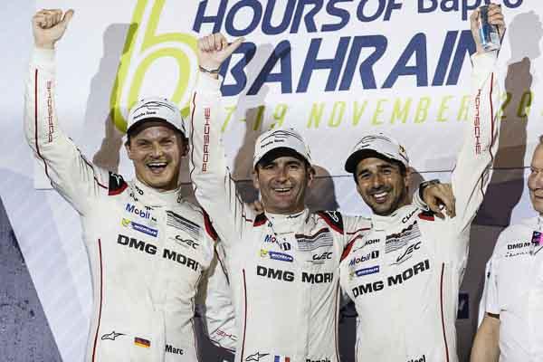 Sakhir (BAH) 2016: Porsche Team: Marc Lieb, Romain Dumas, Neel Jani