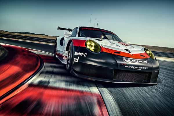 Porsche 911 GT3 Cup (991) 2017 model