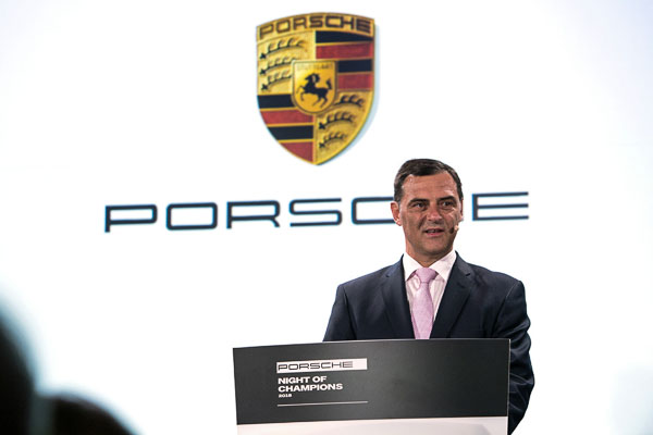 Michael Steiner (Member of the Executive Board Research and Development, Porsche AG)