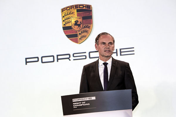 Oliver Blume (Chairman of the Executive Board, Porsche AG)