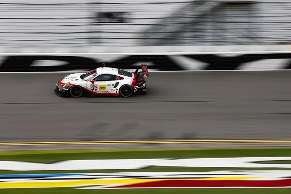 Porsche 911 RSR, Porsche GT Team (912): Laurens Vanthoor, Kevin Estre, Richard Lietz