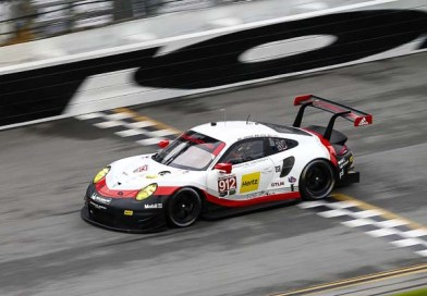 Successful Daytona test for the new 911 RSR