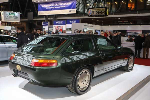 Present for Ferry Porsche's 75th anniversary ; a Porsche 928 Sedan