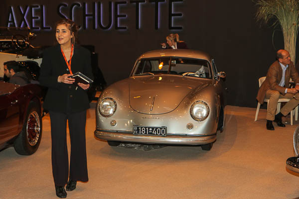 2017 Retromobile Paris - 1950 Porsche 356 Splitwindow, am ultra-rare 4digit car