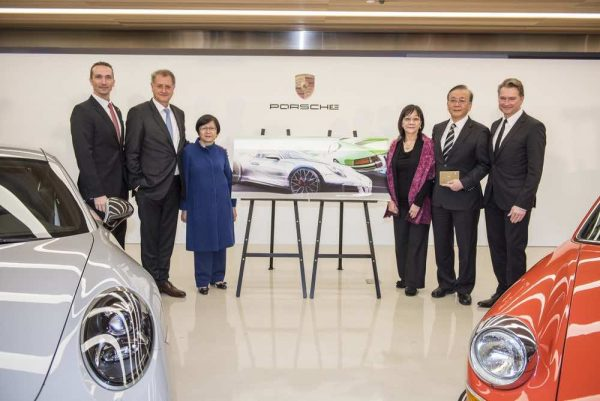 Porsche Joint Venture with Universal Motor Traders Taiwan