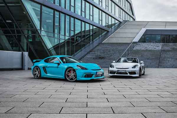 TECHART for Porsche 718 Boxster and Porsche 718 Cayman
