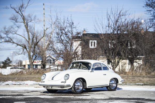 1965 PORSCHE 356C COUPE Coachwork by Karmann