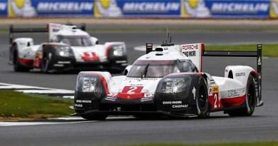 Porsche 919 Hybrid, Porsche LMP Team (2): Timo Bernhard, Brendon Hartley, Earl Bamber; Porsche LMP Team (1): Neel Jani, Andre Lotterer, Nick Tandy