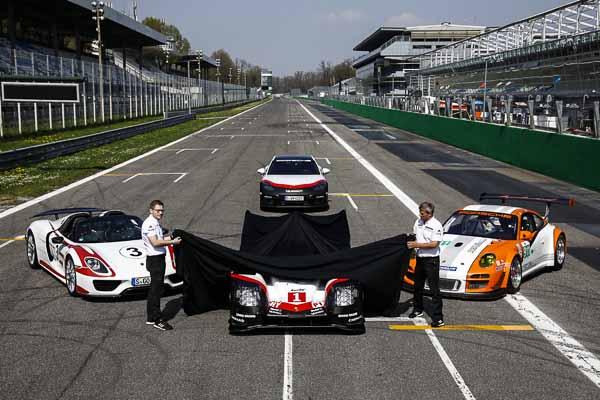 Unveiling Porsche 919 Hybrid, Andreas Seidl, Team Principal Pors