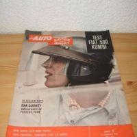 AUTO MOTOR und SPORT 1961 Heft 2 Januar (Dan Gurney)