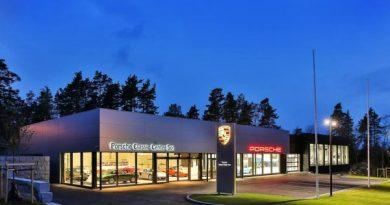 Porsche Classic Center in Norway