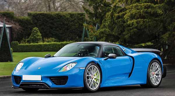 RM Sotheby's Villa Erba - 2015 Porsche 918 Spyder