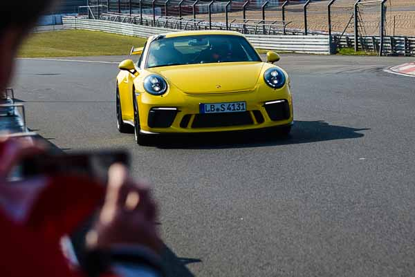 The Porsche 911 GT3 sets a new best time on the Nürburgring Nordschleife