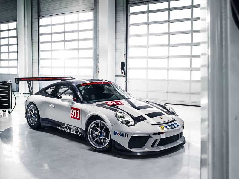 Basic race car for new Porsche Racing Experience: Porsche 911 GT3 Cup (991)