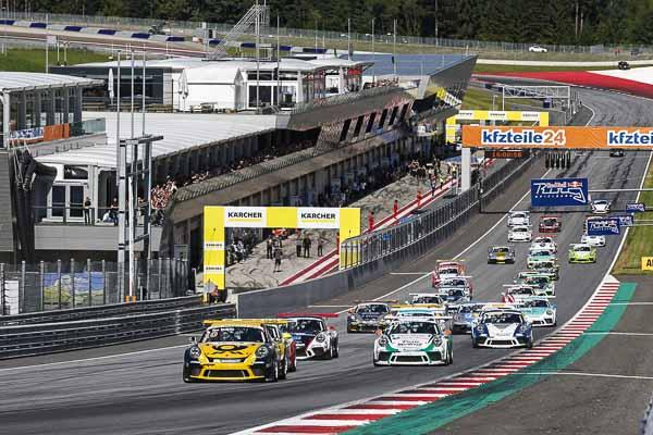 Start: Porsche Carrera Cup Deutschland - 03 Red Bull Ring 2017