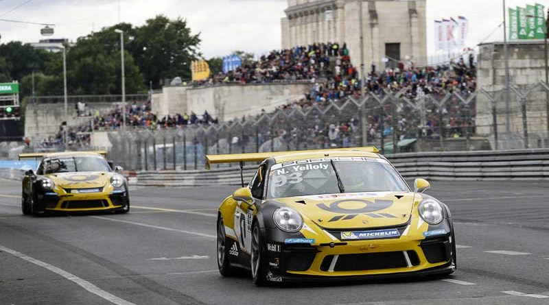 Nick Yelloly (GB), Porsche Carrera Cup Deutschland - 04 Norisring 2017 Maiden Victory