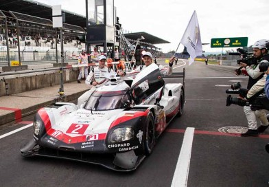 Eifel Hattrick: Porsche 919 Hybrid celebrates one-two win at the Nürburgring