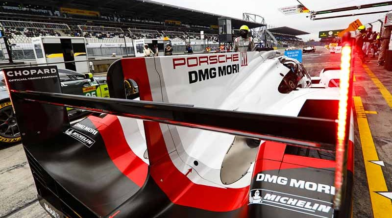 FIA WEC Mexico City Porsche 919 Hybrid, Porsche LMP Team: Neel Jani,a Andre Lotterer, Nick Tandy