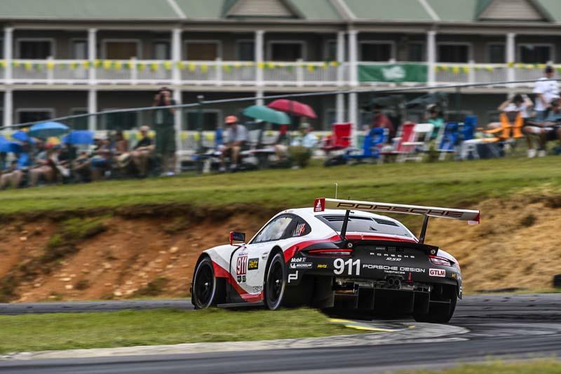 IMSA Weathertech Sportscar Championship, Danville Virginia   Porsche 911 RSR, Porsche GT Team (911): Patrick Pilet, Dirk Werner