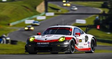 IMSA Weathertech Sportscar Championship, Danville Virginia Porsche 911 RSR, Porsche GT Team (912): Laurens Vanthoor, Gianmaria Bruni