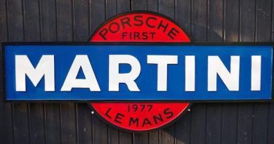Porsche Martini Garage Display Bonhams Autojumble Beaulieu