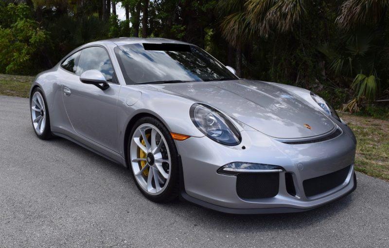 2016 Porsche 911R Russo and Steel Monterey