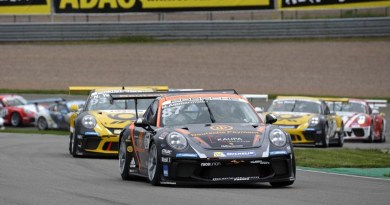 Start: Porsche Carrera Cup Deutschland - 07 Sachsenring 2017