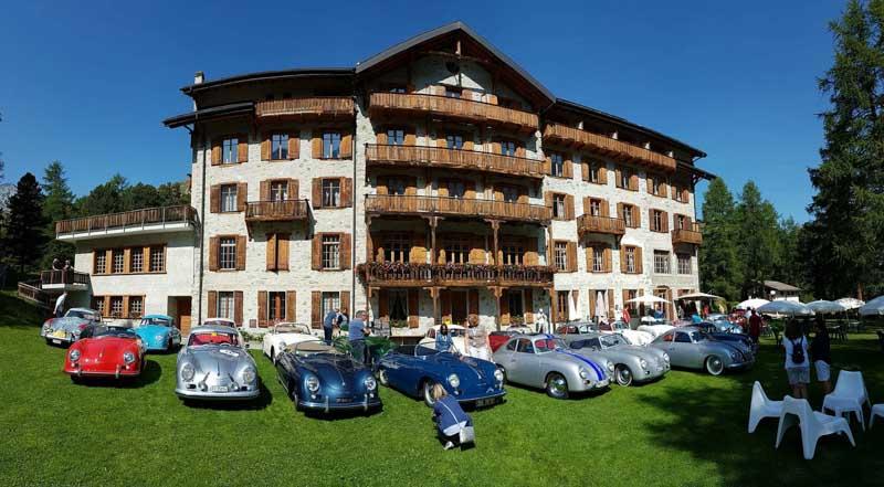 2017 Porsche 356 pre A Meeting Switzerland